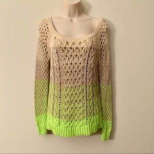 American Eagle Outfitters Sweaters - American Eagle open knit beach sweater cover up